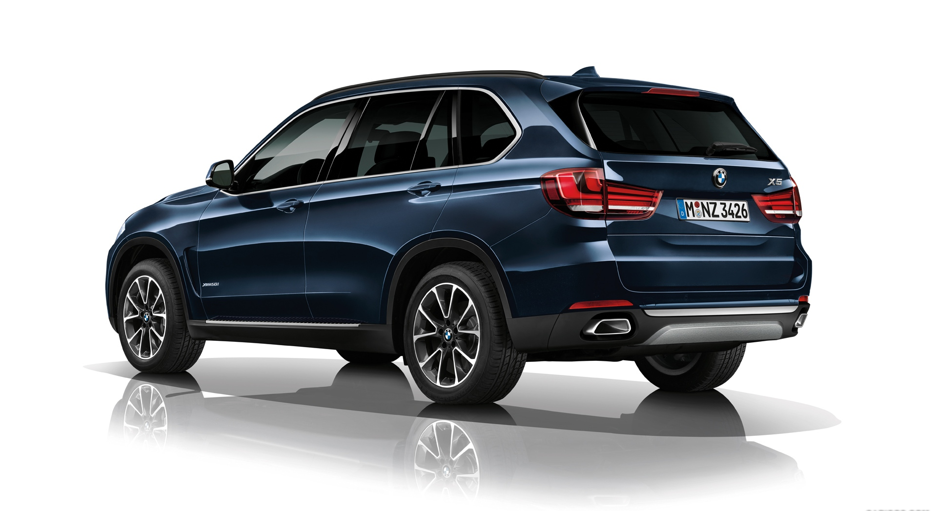 bmw x5 security plus back
