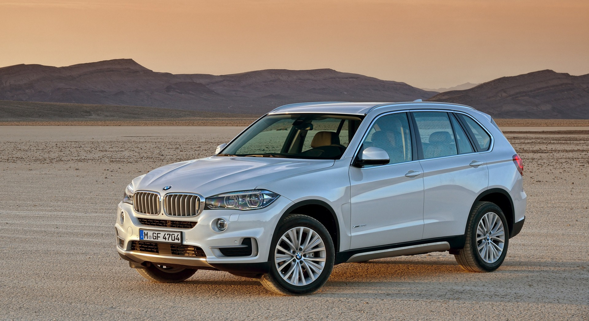 bmw x5 sunset