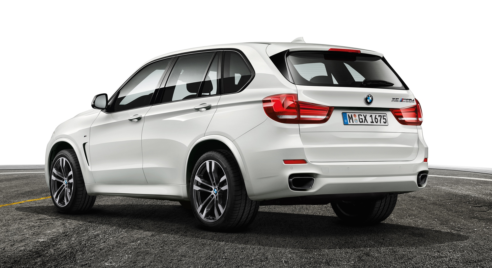 bmw x5 white back