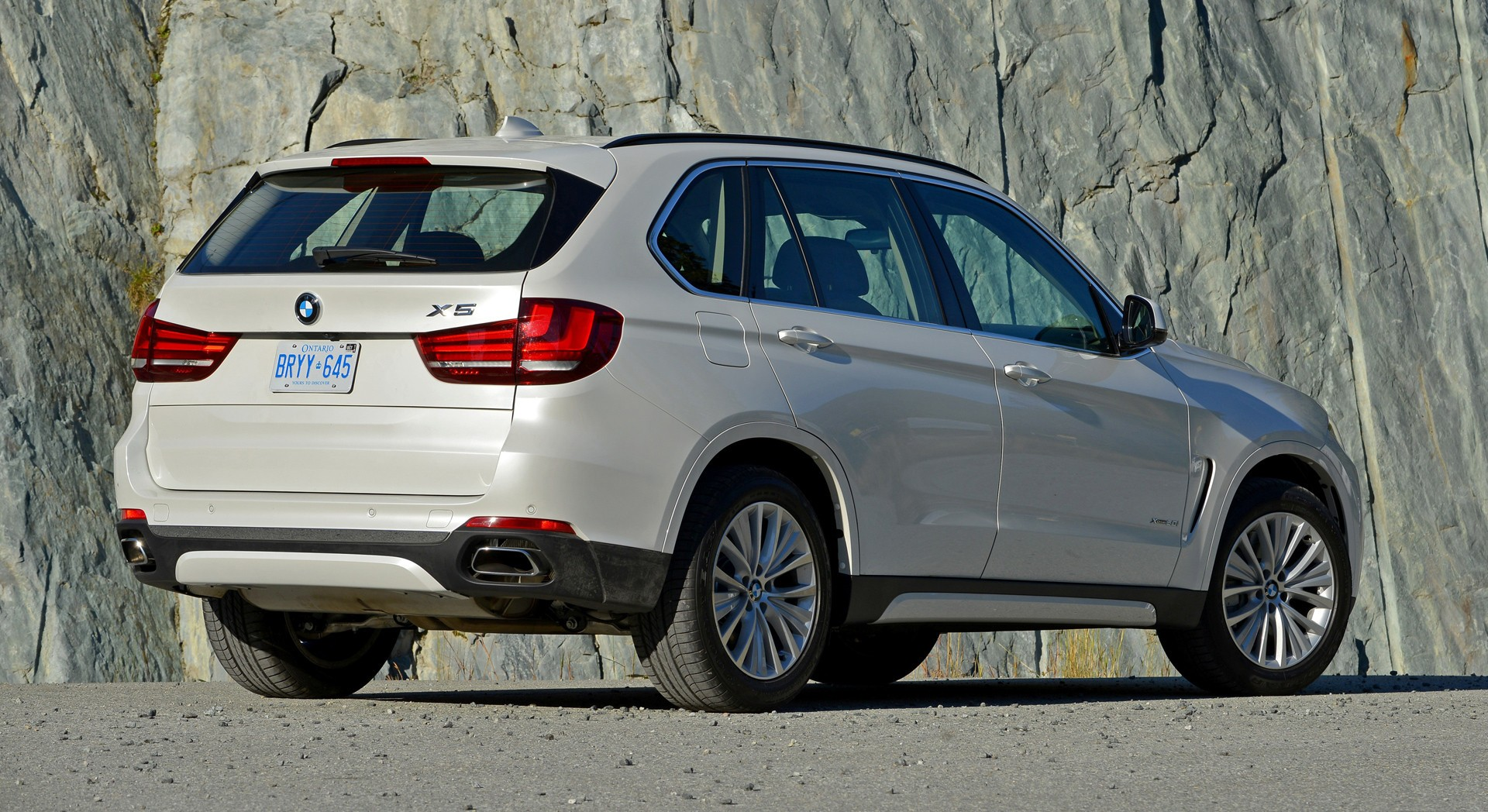 bmw x5 white rear hd