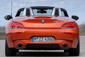 bmw z4 orange back