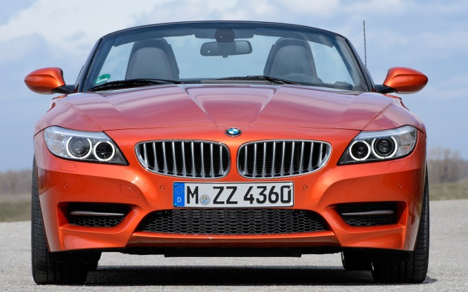 bmw z4 orange front