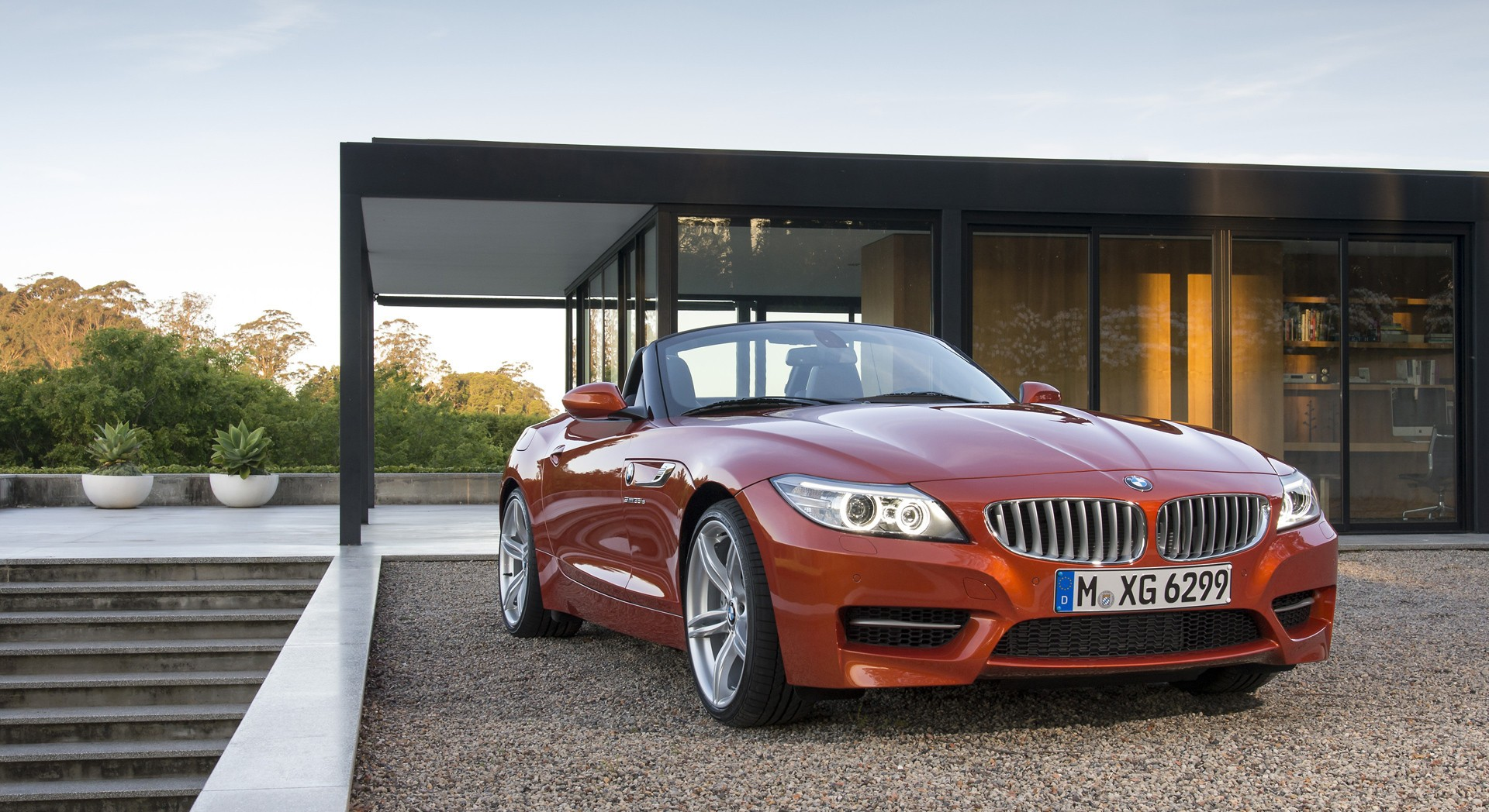 bmw z4 orange pictures hd