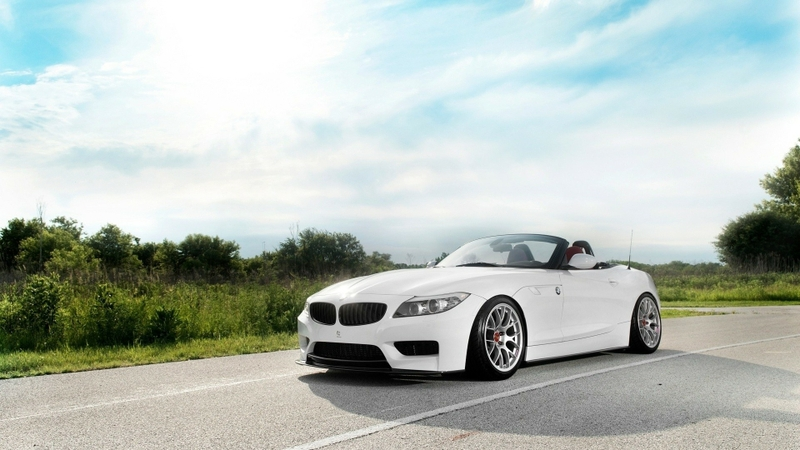 bmw z4 orange roadster