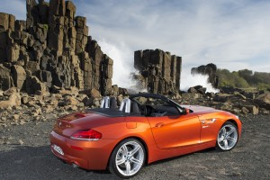 bmw z4 orange sea