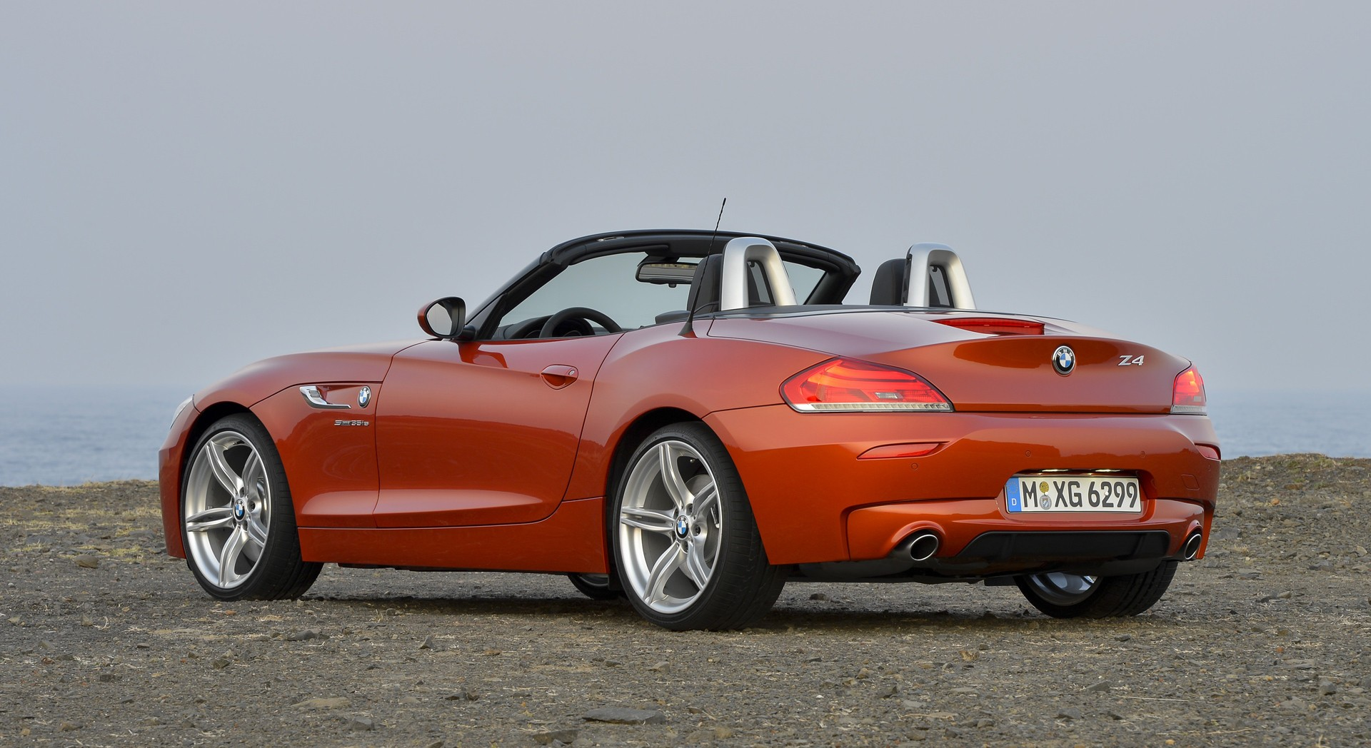 bmw z4 orange sweet ride