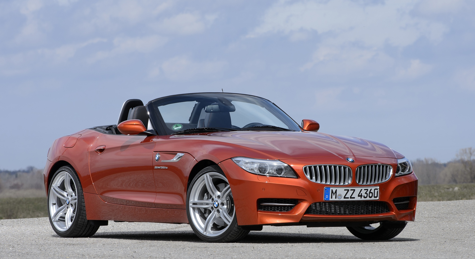 bmw z4 orange wallpaper