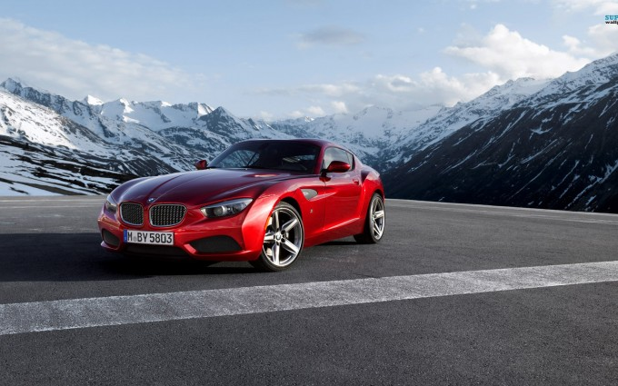 bmw z4 red coupe