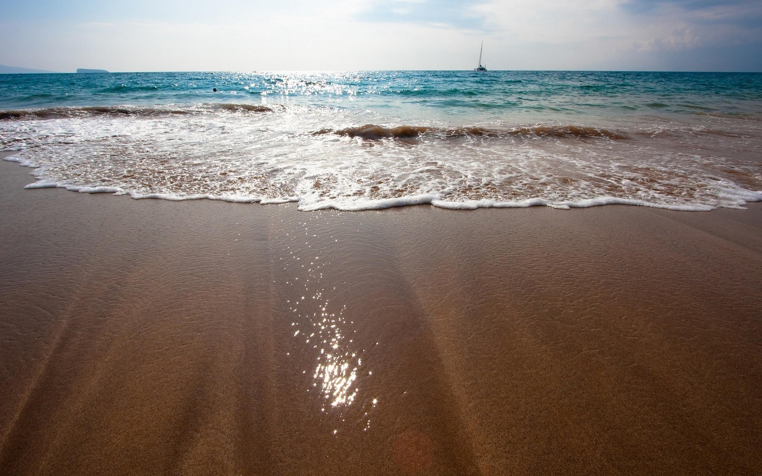 White Sand Beach 4k Hd Desktop Wallpaper For 4k Ultra Hd: Brown Sand Beach Hd - HD Desktop Wallpapers