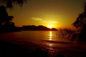 cala bona sunset nature