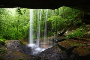 cave images waterfall