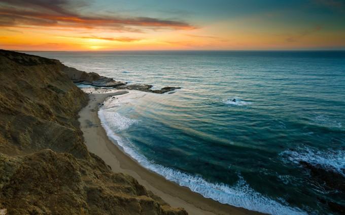 coast sundown