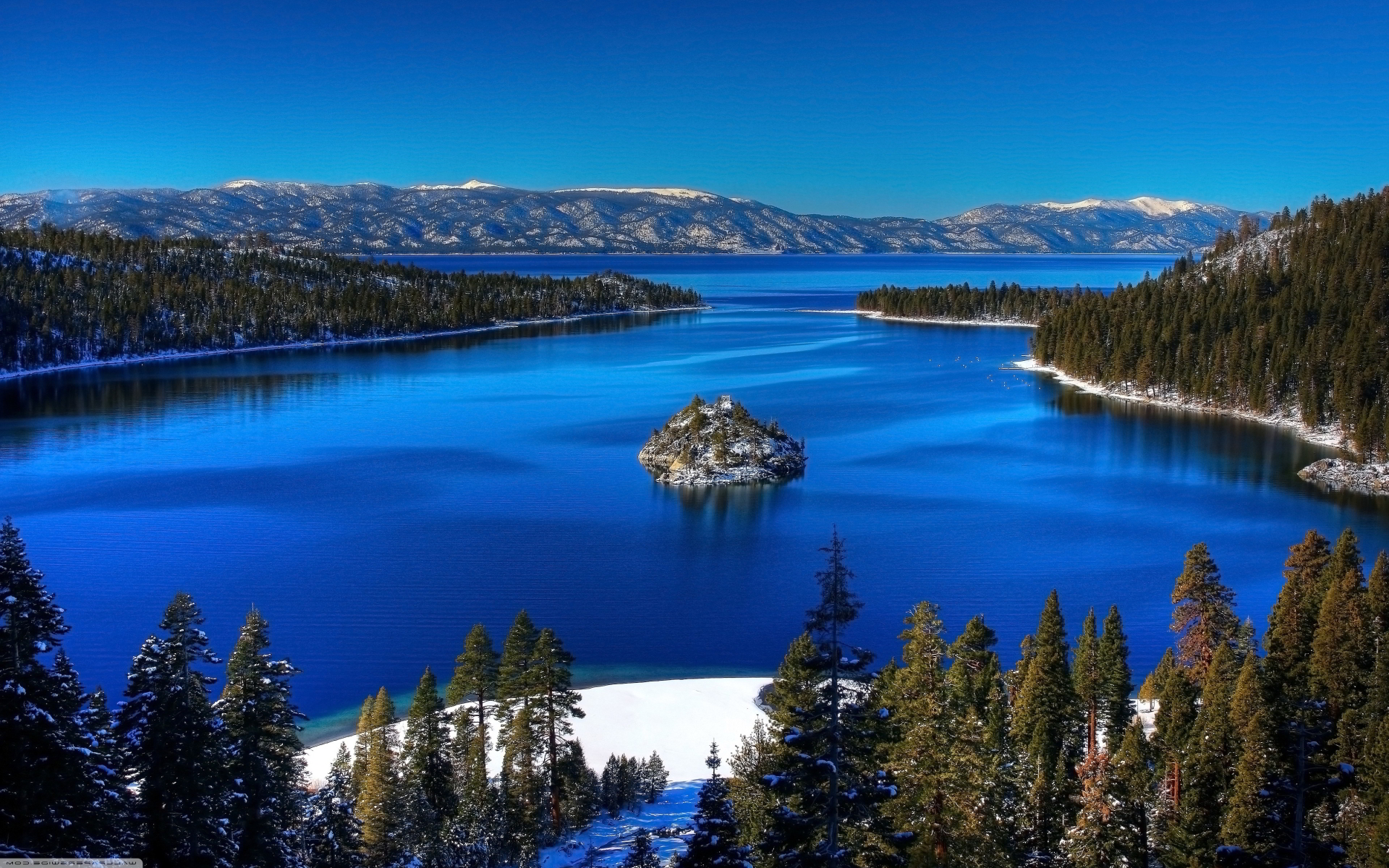 emerald bay wallpaper