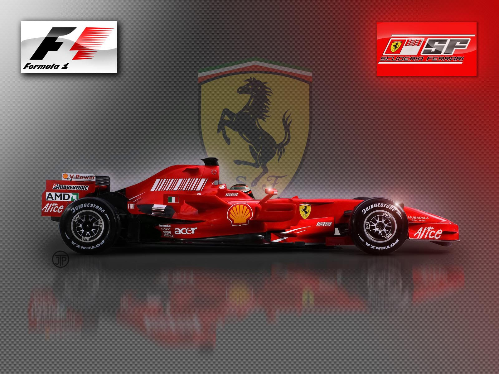 ferrari f1 wallpaper background