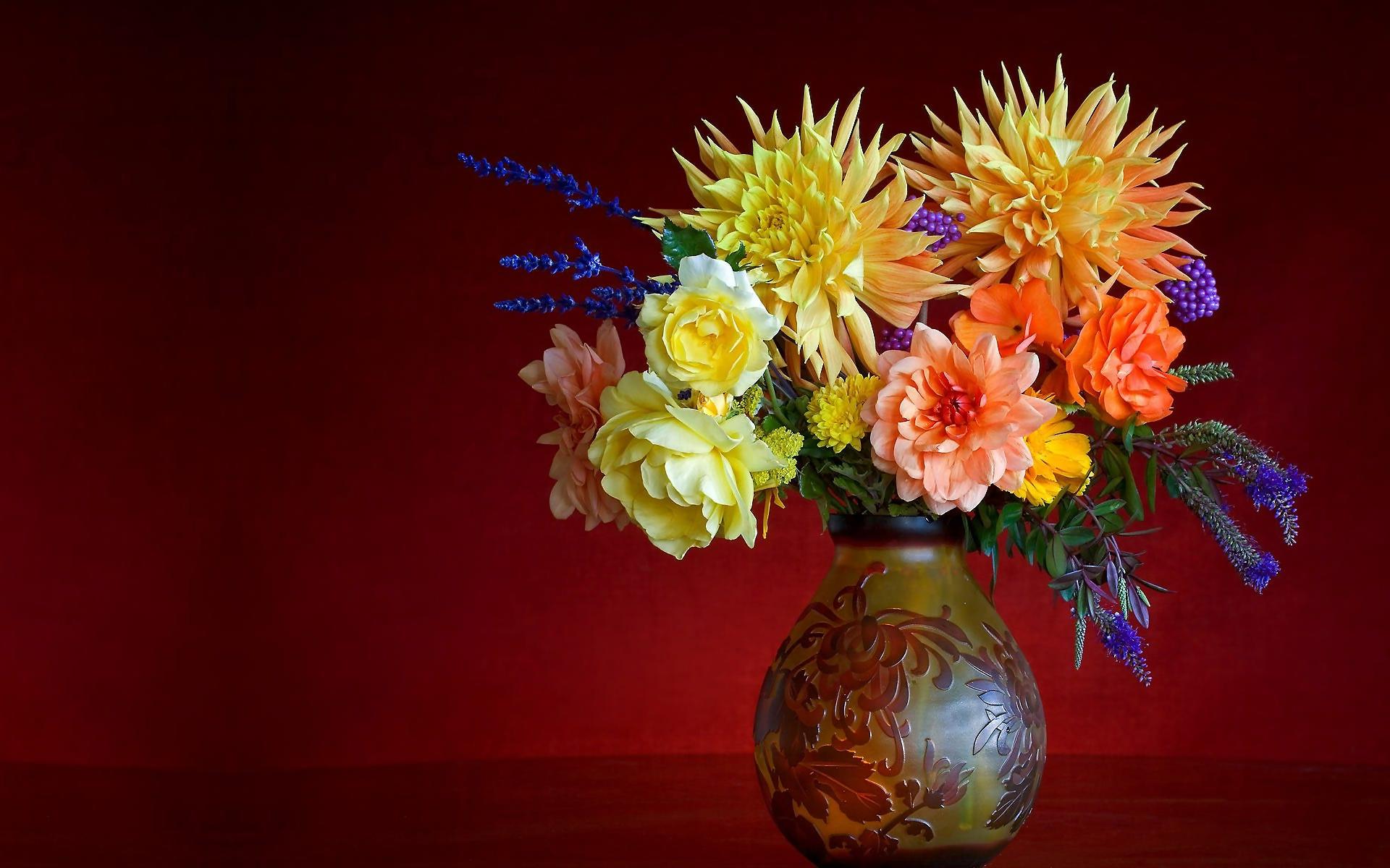 flower vase pictures