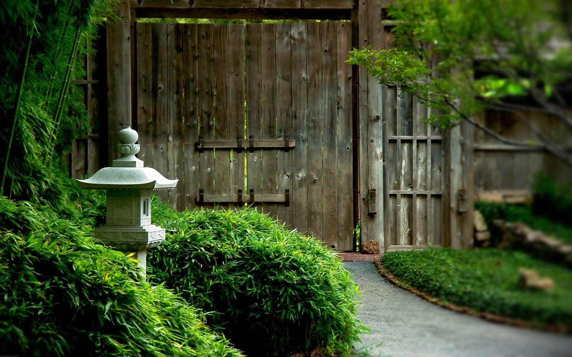 green garden images