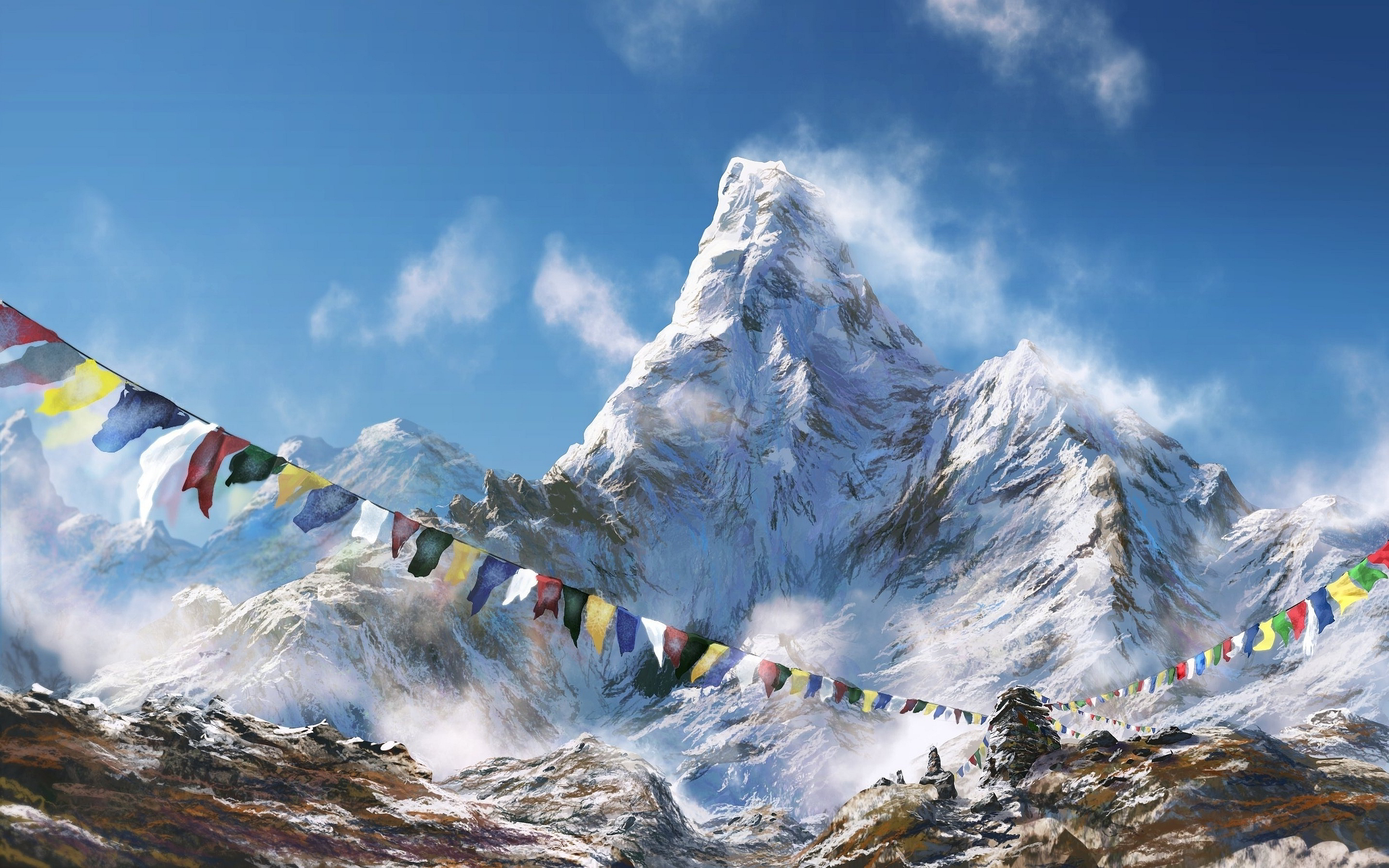 himalaya wallpaper 3d