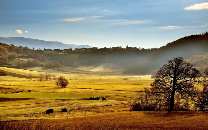 italy sunshine scenery