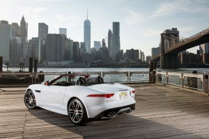 jaguar f type convertible city