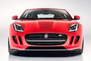 jaguar f type coupe front