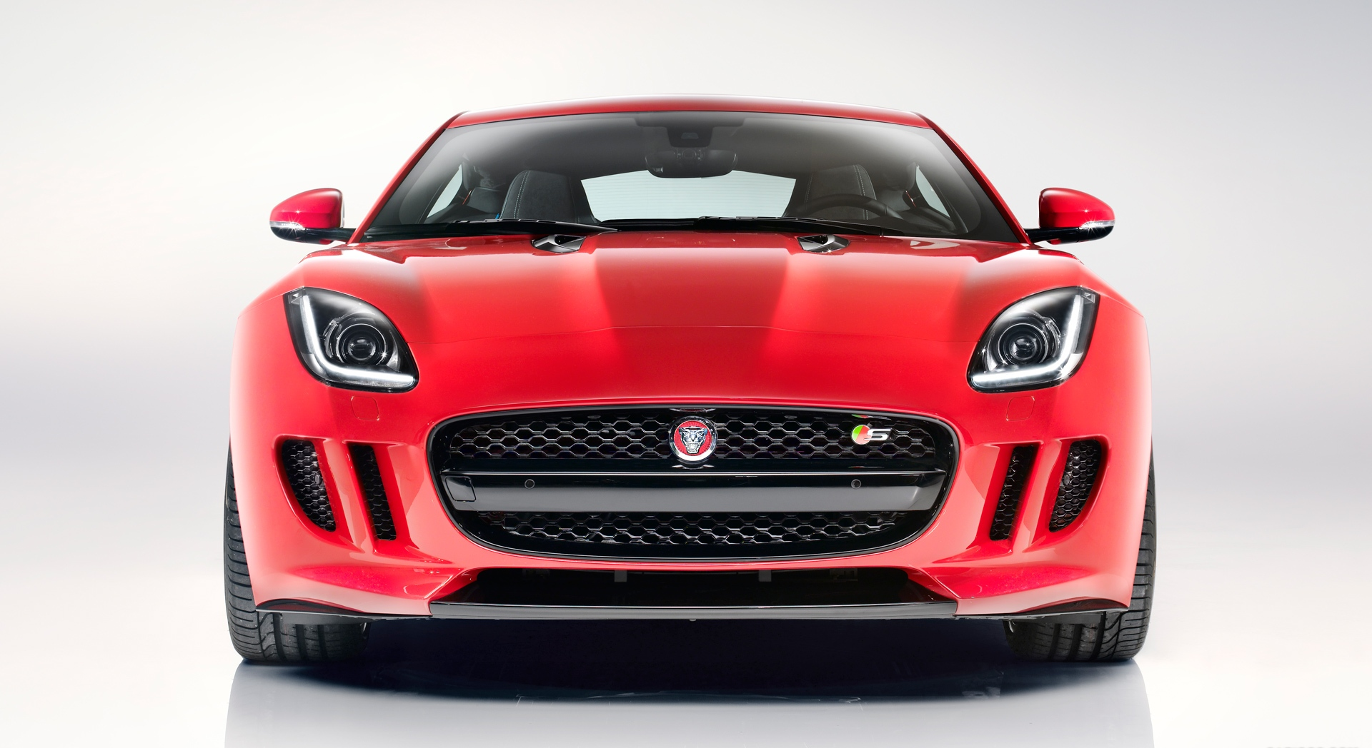 jaguar f type coupe front