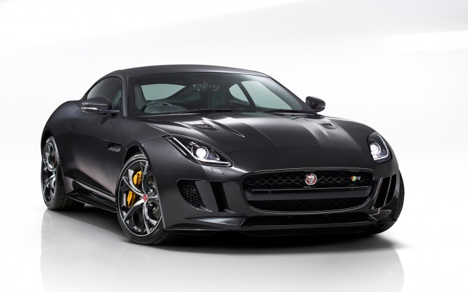 jaguar f type coupe grey