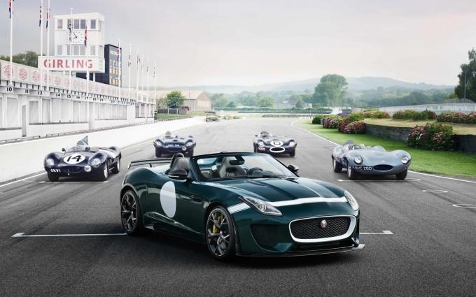 jaguar f type prototype cars