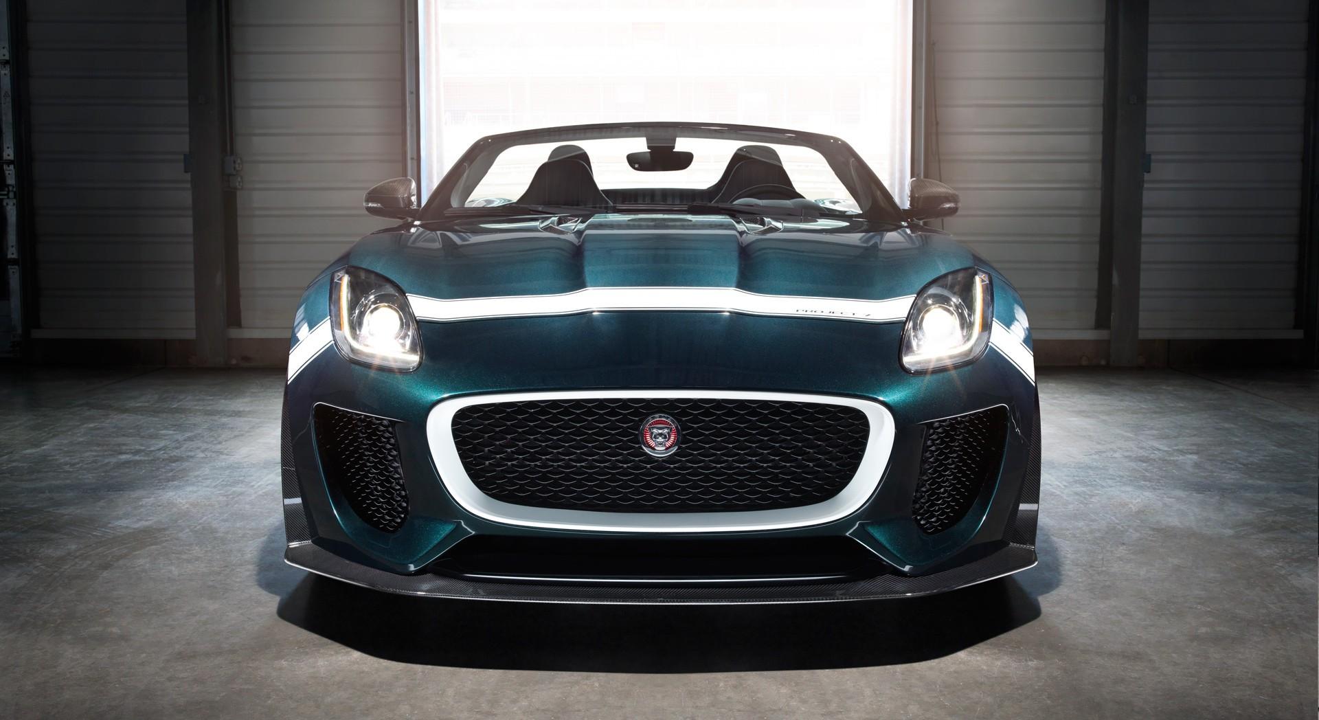 jaguar f type prototype front
