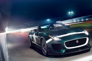 jaguar f type prototype green