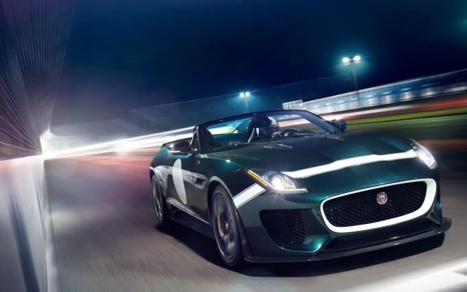 jaguar f type prototype green