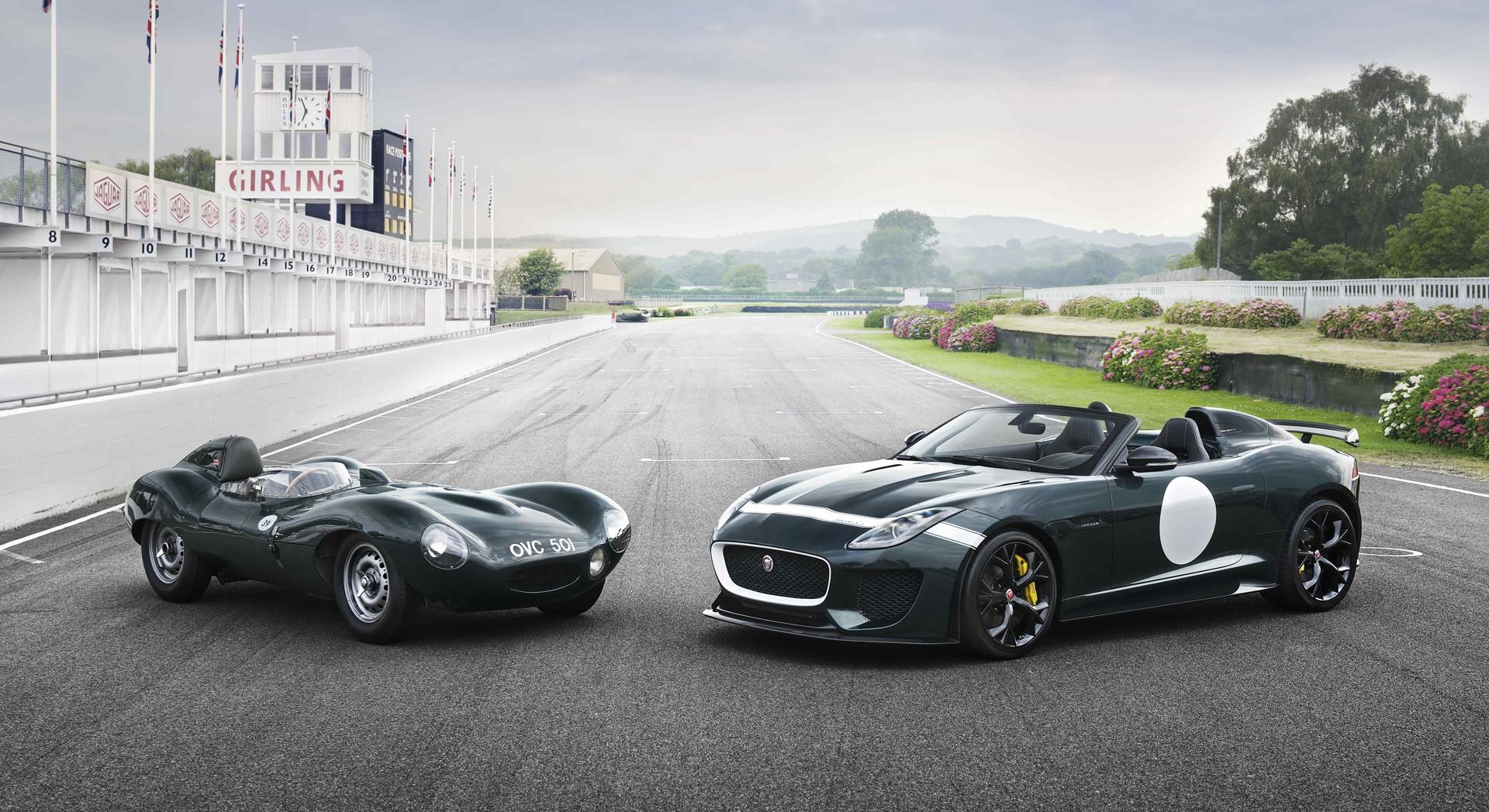 jaguar f type prototype track