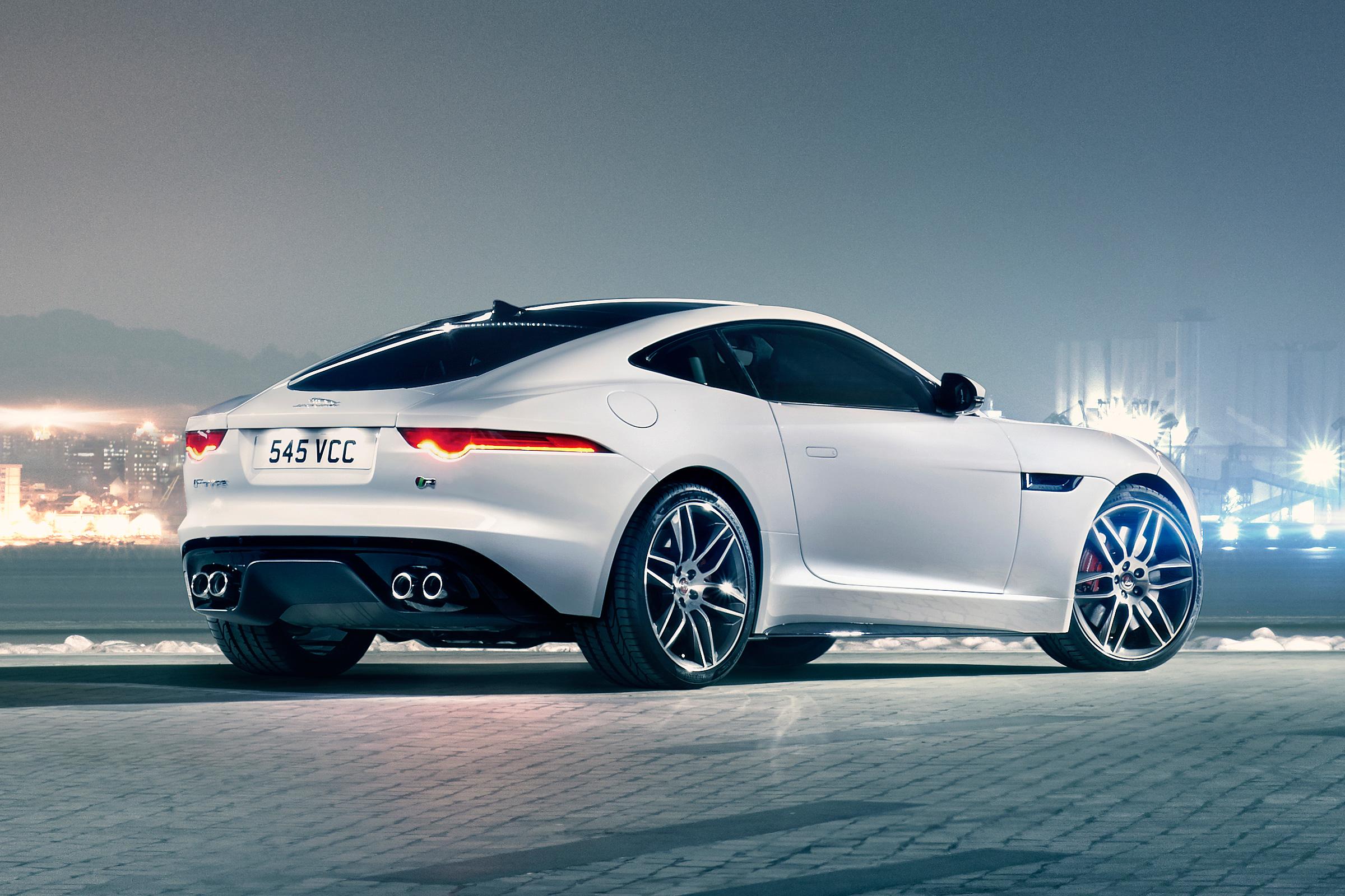 jaguar f type r coupe cool