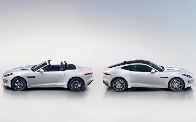 jaguar f type r coupe roadster