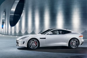 jaguar f type r coupe white