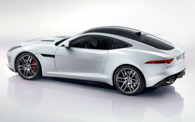 jaguar f type r coupe white pictures