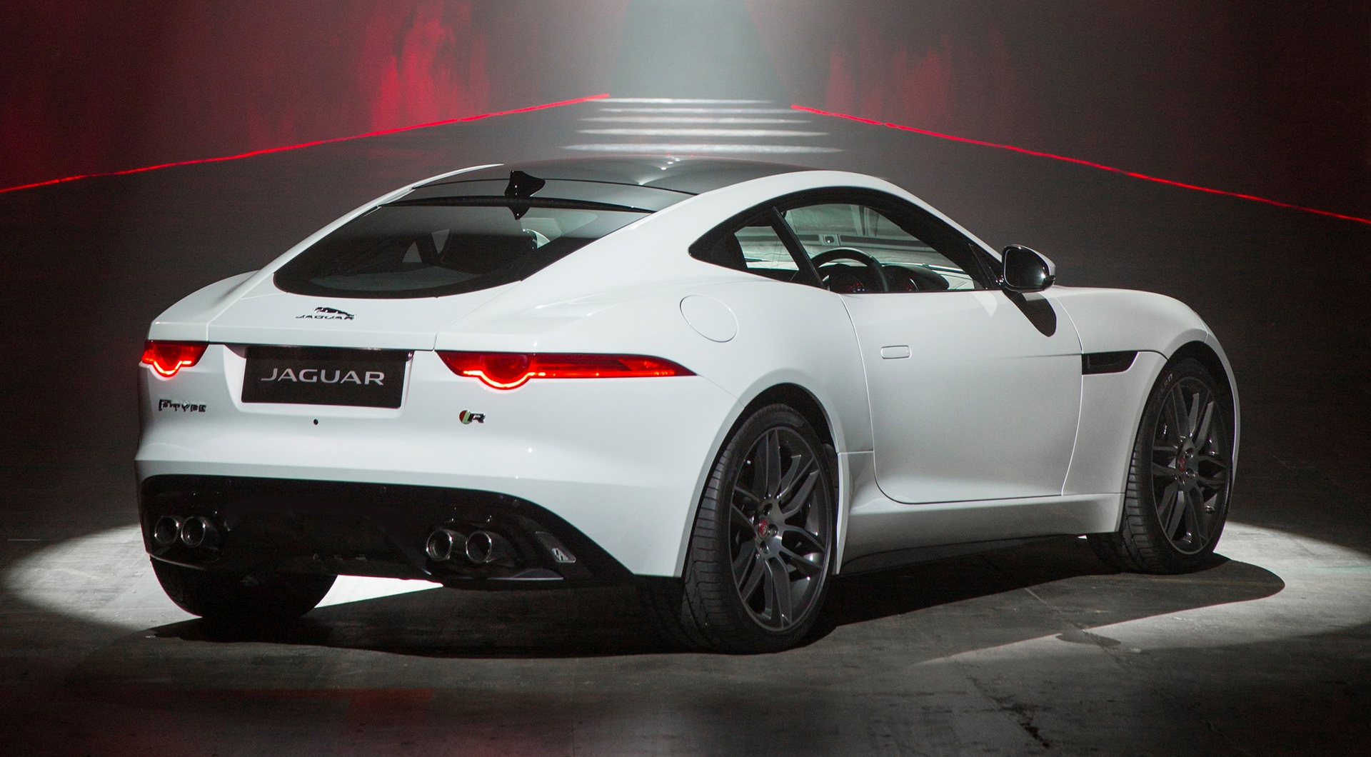 jaguar f type r white hd