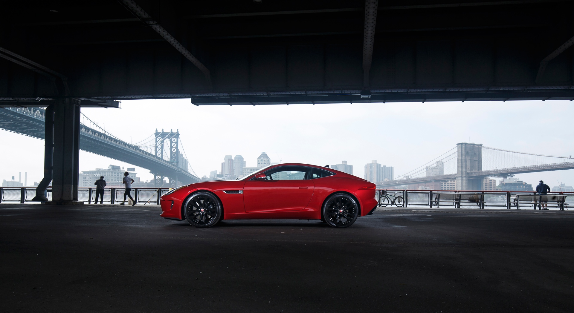 jaguar f type red cool