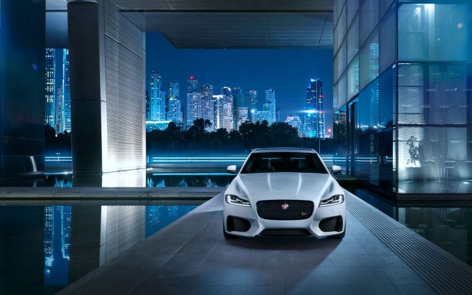 jaguar xf front hd