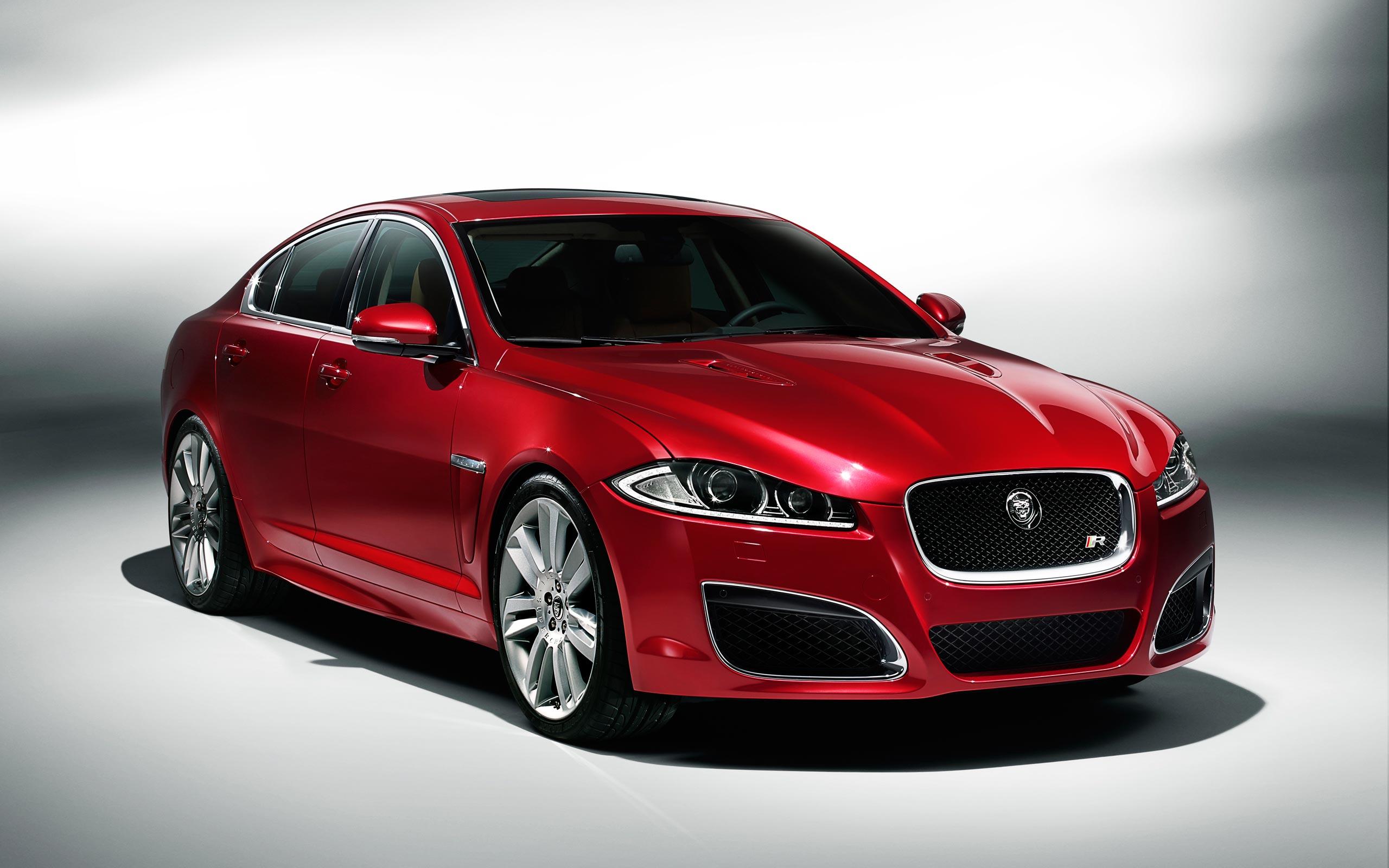 jaguar xf red