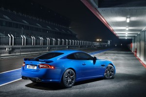 jaguar xkr blue