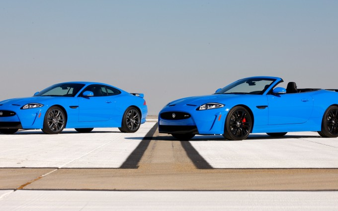 jaguar xkr blue cars