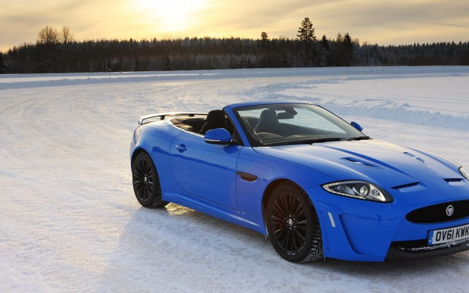 jaguar xkr blue cool