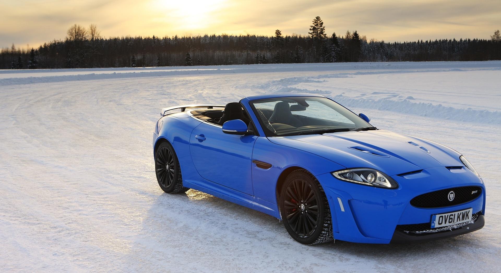 jaguar xkr blue cool