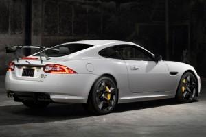 jaguar xkr white car