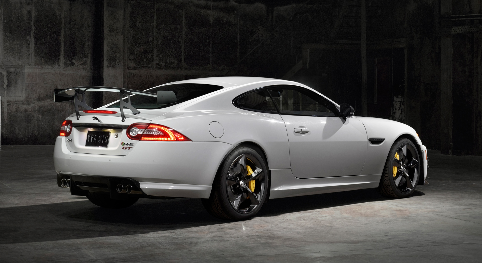 jaguar xkr white car