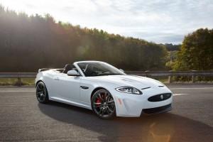 jaguar xkr white convertible