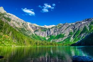 lake wallpaper avalanche