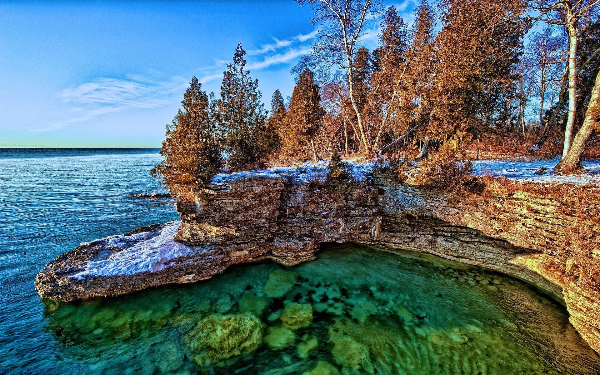 lake wallpaper michigan