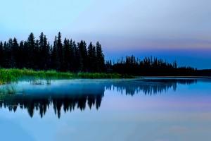 lake wallpaper silent evening