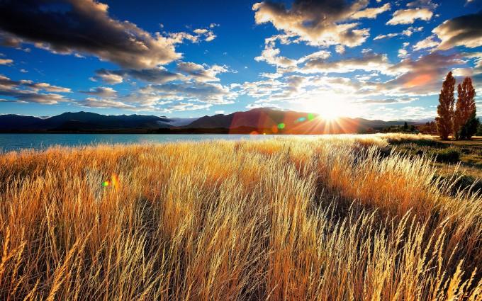 landscape sunrise images